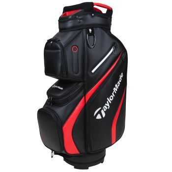 TaylorMade 2021 Deluxe Cart Bag - Black/Red