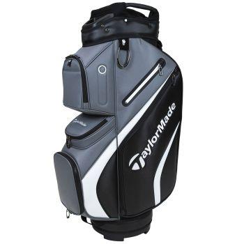 TaylorMade 2021 Deluxe Cart Bag - Black/Grey