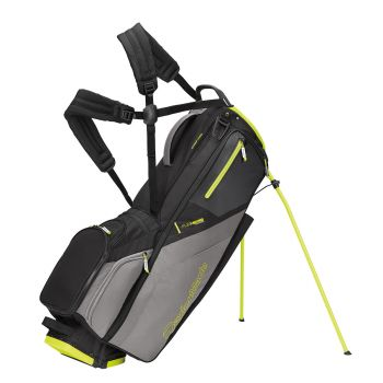 TaylorMade 2021 Flextech Stand Bag - Black/Neon lime
