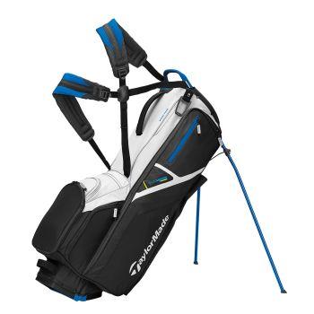 TaylorMade 2021 Flextech Stand Bag - Black/Blue