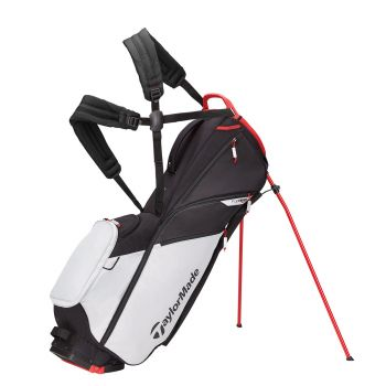 TaylorMade 2021 Flextech Lite Stand Bag - Gray/Red