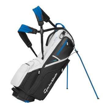 TaylorMade 2021 Flextech Crossover Stand Bag - Black/Blue