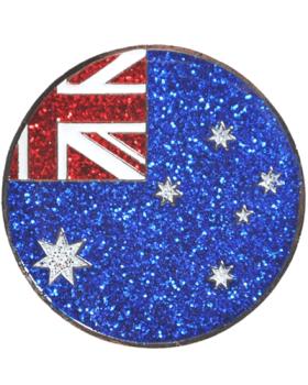 Navika Australia Flag Swarovski Crystal Ball Marker