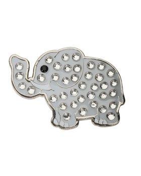 Navika Elephant Swarovski Crystal Ball Marker