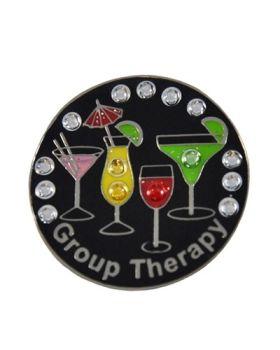 Navika Group Therapy Swarovski Crystal Ball Marker
