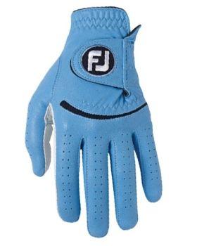 Footjoy Men's Spectrum Glove Pearl/Blue Left Hand (For the Right Handed Golfer)