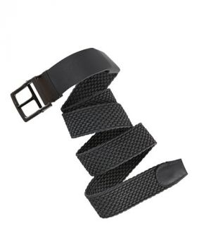 Nike Stretch Woven Golf Belt - Dark Grey