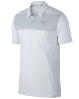 Nike Dry Colour Block Polo Shirt - White