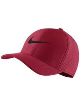 Nike Unisex Aerobill Classic 99 Golf Cap - Tropical Pink/Black - (S/M)
