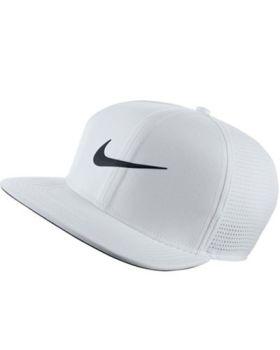 Nike Aerobill Pro Performance Golf Cap - White