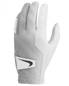 Nike Tech Golf Glove White/Wolf Grey - Left Hand (For The Right Handed Golfer)