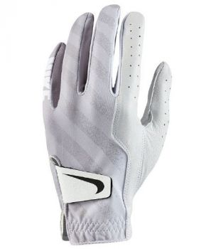 Nike Women's Tech Golf Glove - White/Black/Wolf Grey Left Hand (For The Right Handed Golfer)