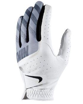 Nike Sport Golf Glove White/Golf Grey - Left Hand (For The Right Handed Golfer)