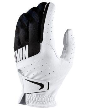 Nike Sport Golf Glove White/Black - Left Hand (For The Right Handed Golfer)