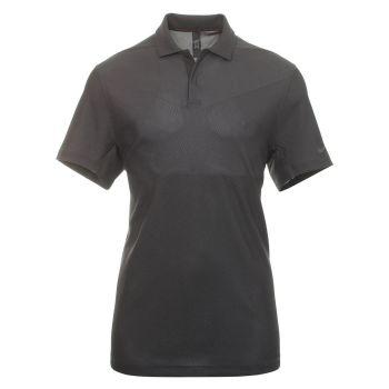 Nike Men's Tiger Woods Dri-Fit ADV Traditional Golf Polo - Dark Smoke Grey/Black