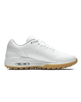 Nike Women's Air Max 1G Shoes - White/Gum Light Brown