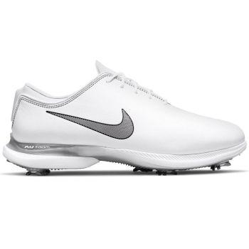 Nike Men's Air Zoom Victory Tour 2 Golf Shoes - White/Metallic Platinum/Black