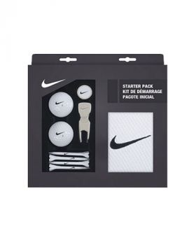 NIKE GOLF STARTER PACK - WHITE/BLACK