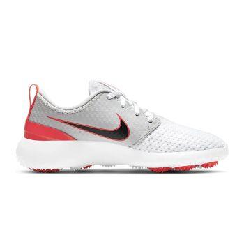 Nike Junior Roshe G Golf Shoes - White/Black/Neutral Grey/Infrared