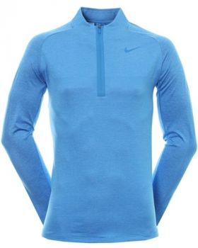 Nike Golf Dry Knit Statement Zip - Light Photo Blue