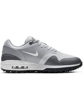 Nike Air Max 1G Golf Shoes - Pure Platinum/ White/ Wolf Grey/ Cool Grey