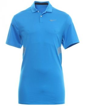 Nike Vapor Reflective Polo Shirt - Photo Blue/Reflective Silver