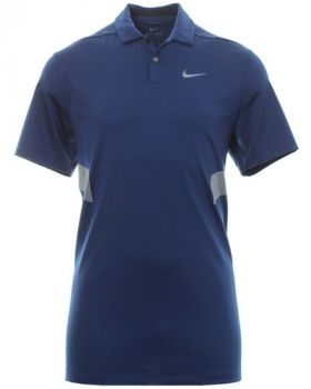 Nike Vapor Reflective Polo Shirt - Blue Void/Reflective Silver