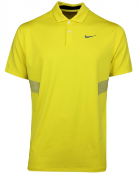 Nike Vapor Reflective Blade Polo Shirt - Chrome Yellow/Silver