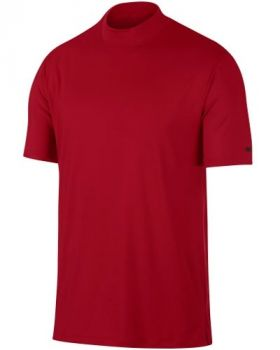 Nike Dri-FIT Tiger Woods Vapor Top- Gym Red