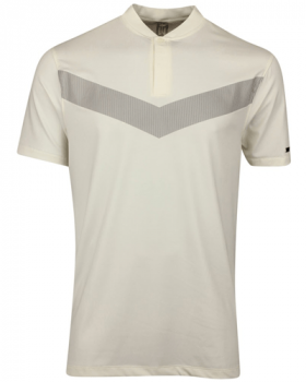 Nike Tiger Woods Vapor Reflective Blade Polo Shirt - Sail/Black