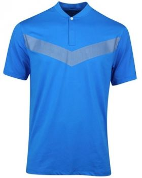Nike Tiger Woods Vapor Reflective Blade Polo Shirt - Photo Blue/Black