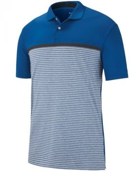 Nike Dri-FIT Tiger Woods Vapor Polo Shirt - Gym Blue