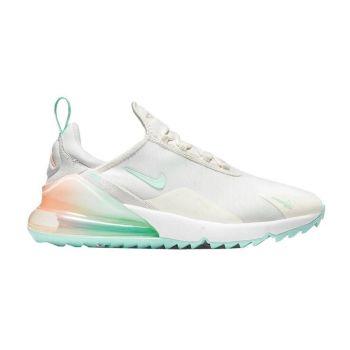 Nike Air Max 270G Golf Shoes - Sail/Light Dew/Crimson Tint/Photon Dust