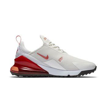 Nike Air 270G Golf Shoes - Sail/Magic Ember/Newsprint/White