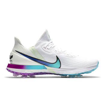 Nike Air Zoom Infinity Tour NRG Golf Shoes - White/Black/Metallic Summit/Aqua (EXCLUSIVE TO AL QUOZ & ABU DHABI STORE)