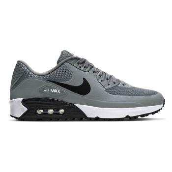 Nike Air Max 90G Golf Shoes - Smoke Grey/Black/White