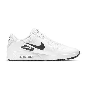 Nike Air Max 90G Golf Shoes - White/Black