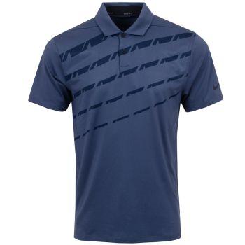 Nike Men's Dri-Fit Vapor Graphic Golf Polo - Thunder Blue/Black