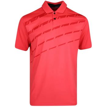 Nike Men's Dri-Fit Vapor Graphic Golf Polo - Track Red/Black
