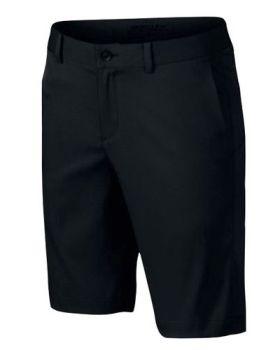 Nike Junior's Flat Front Short - Black