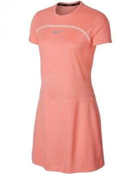 Nike Women's Short Sleeve Dry Golf Dress - Light Atomic Pink