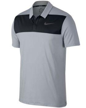 Nike Dry Colour Block Polo Shirt - Wolf Grey/Black