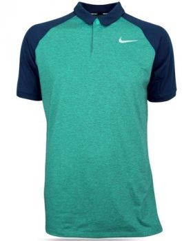 Nike Dri-Fit Raglan Golf Polo - Neptune Green