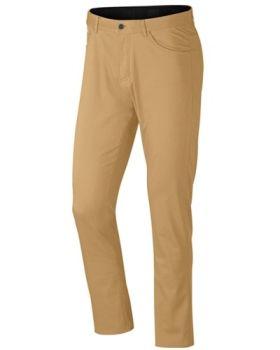 Nike Flex Slim Fit 5-Pocket Trousers - Club Gold/Wolf Grey