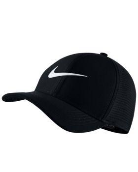 Nike AeroBill Classic 99 Golf Cap - Black/Anthracite/White