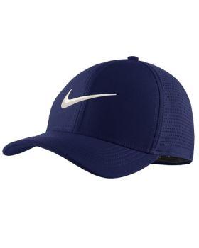 Nike AeroBill Classic 99 Golf Cap - Blue Void/ Anthracite/ Sail