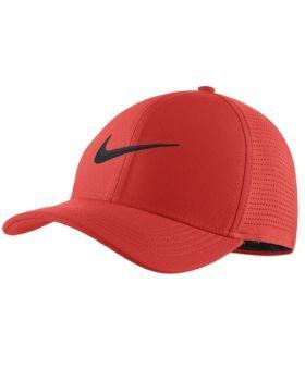 Nike AeroBill Classic 99 Golf Cap - Habanero Red
