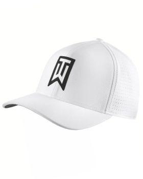 Nike TW AeroBill Classic 99 Golf Cap - White/Black