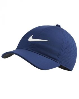 Nike Women's AeroBill Legacy91 Perforated Golf Cap - Blue Void/White