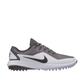 Nike Lunar Control Vapor 2 Golf Shoes - Gunsmoke/Grey/White/Red